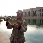 Bass fishing in Iraq