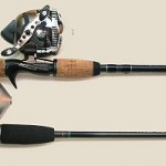 spin cast rod reel